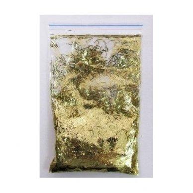 Blizgesys-Auksiniai pailgi