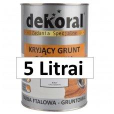 Gruntas baltas GRUNTOMAL 5L