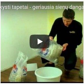 Skystų tapetų dėjimas (VIDEO)